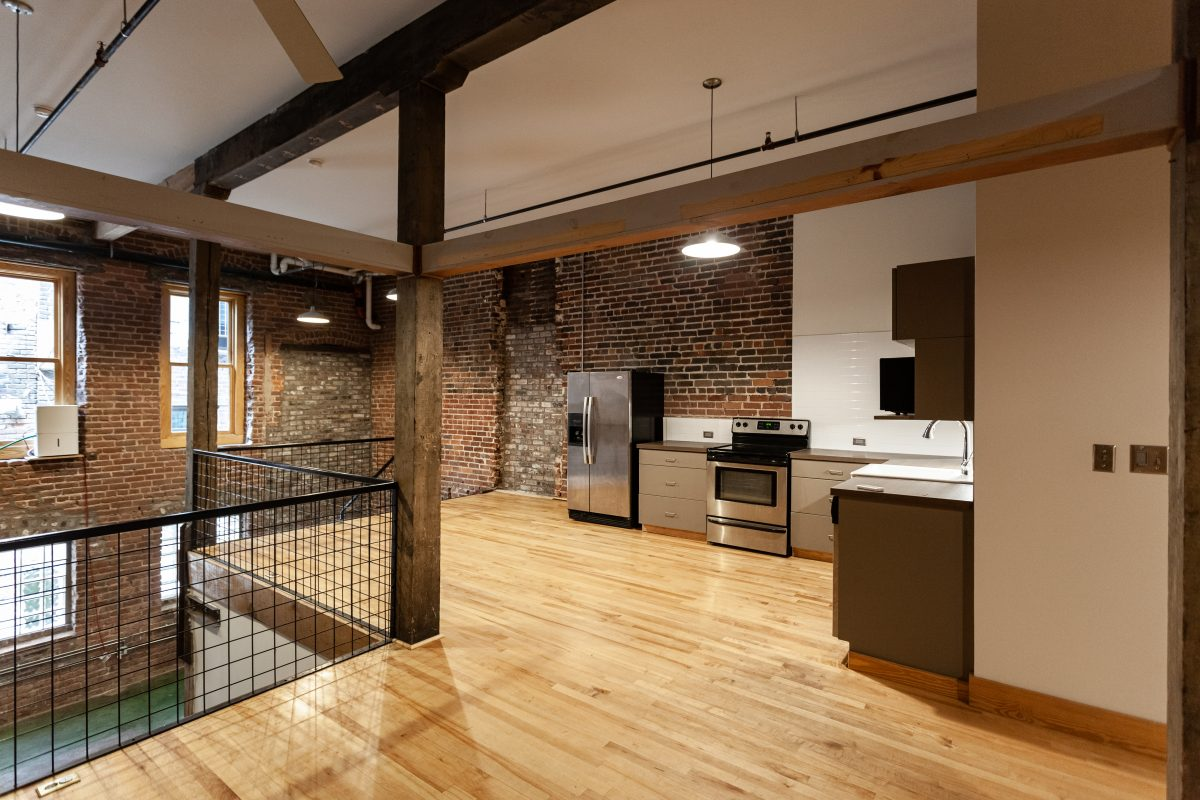 Apartment at the Fixture Building