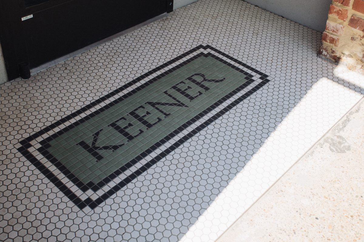 Entrance to the Keener Building