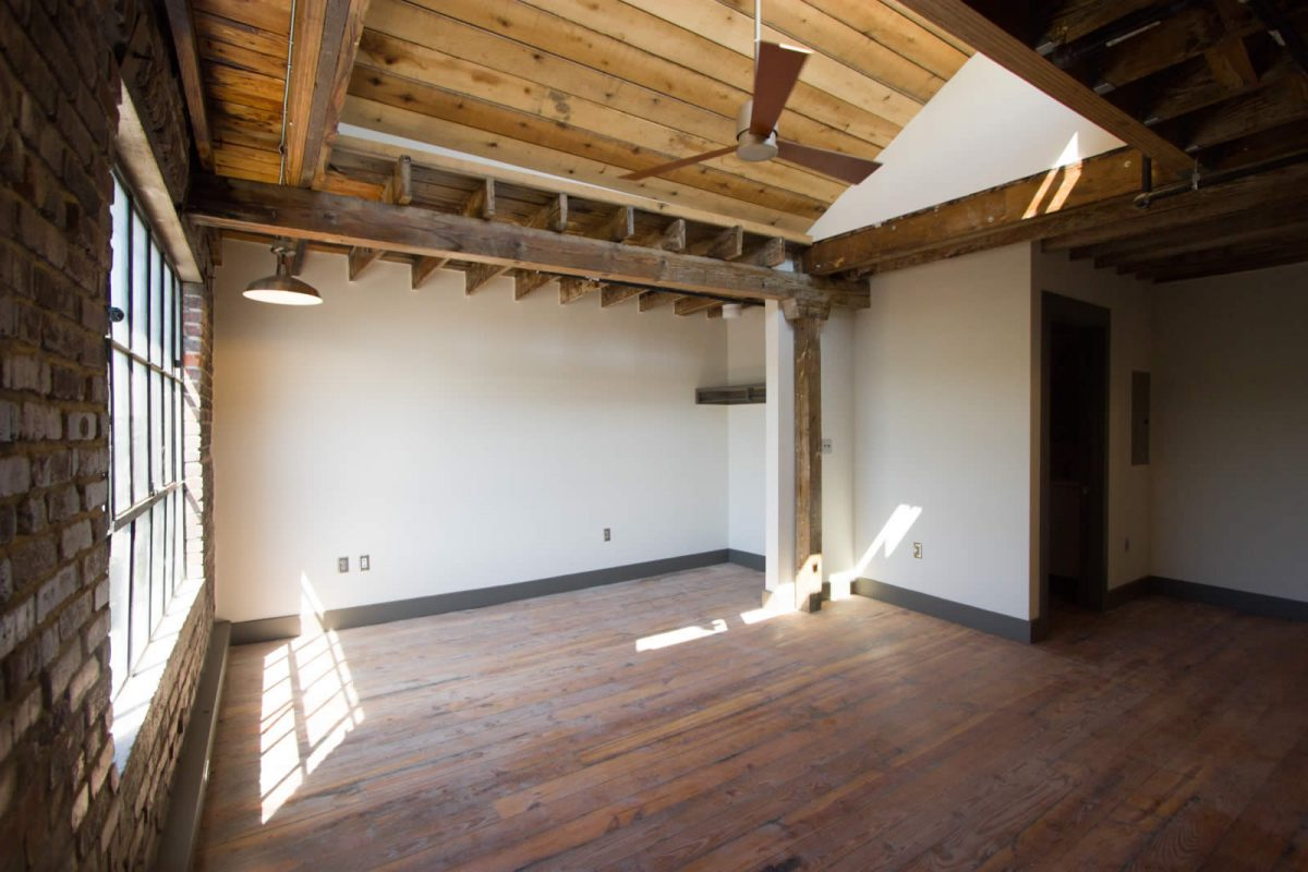 Knoxville apartment at Electric Company Lofts