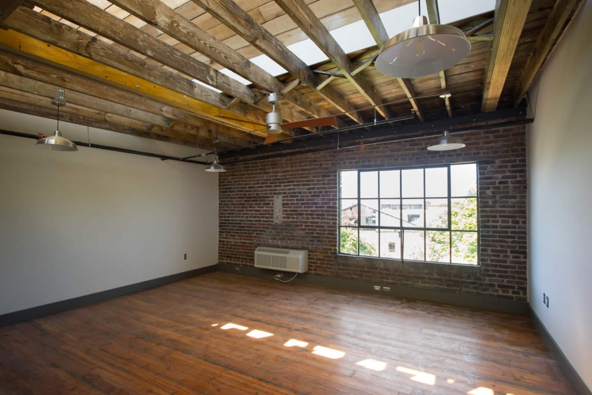 Skylight Knoxville apartment at Electric Company Lofts